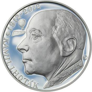 Mince ČNB - 2012 Proof - 200 Kč Kamil Lhoták - 2