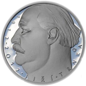 Mince ČNB - 2012 b.k. - 500 Kč Jiří Trnka - 2