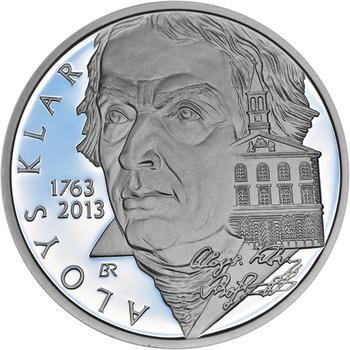 Mince ČNB - 2013 Proof - 200 Kč Aloys Klar - 2