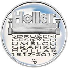 Mince ČNB - 2017 b.k. - 200 Kč Založení Sdružení českých umělců grafiků Hollar - 2