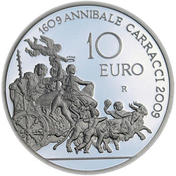 2009 Annibale Carracci Ag Proof - 2