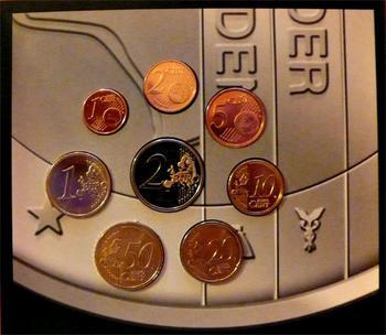 Oběhové mince Nizozemí Unc. 2007 - 2