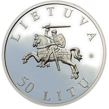 2009 Vilnius - European Capital of Culturre Silver Proof - 2
