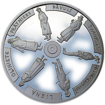 Times of the Land-Surveyors 2009 Silver Proof - 2