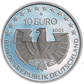2005 Bayerischer Wald Silver Proof  - 2