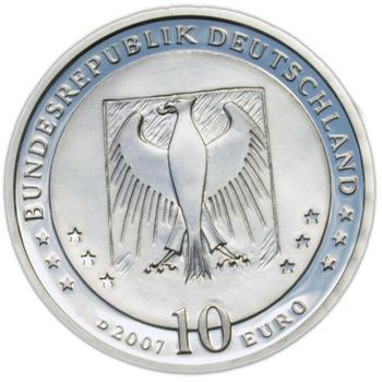 2007 Wilhelm Busch Silver Proof 10 Eur - 2