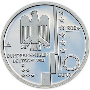 2004 Bauhaus Design Silver Proof  - 2