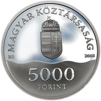 Olympic games Bejing Ag 5000 Ft 2008 Proof - 2