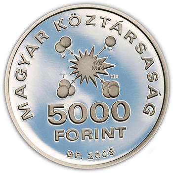 Edward Teller Ag 5000 Ft 2008 Proof - 2