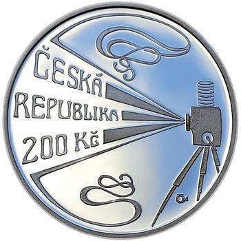 Mince ČNB - 2008 - Proof - 150. výročí narození Viktor Ponrepo - 2