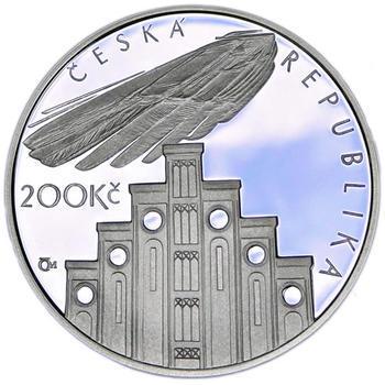 Mince ČNB - 2008 - Proof - 100. výročí  úmrtí Josefa Hlávky - 2