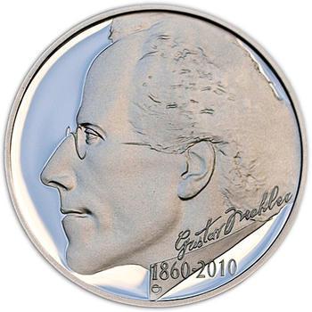 Mince ČNB - 2010 Proof - 200 Kč 150. výročí narození Gustava Mahlera - 2