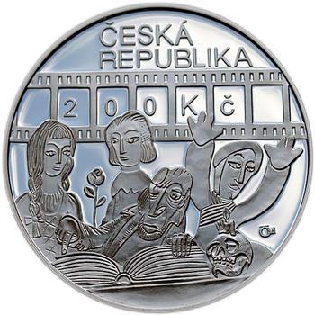 Mince ČNB - 2010 Proof - 200 Kč 100. výročí narození Karel Zeman - 2