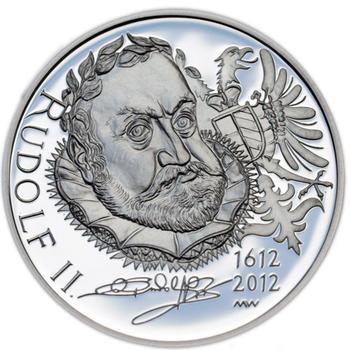 Mince ČNB - 2012 b.k. - 200 Kč  Rudolf II. - 2