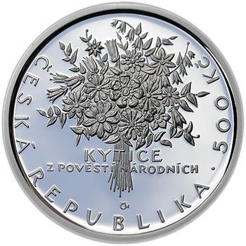 Mince ČNB - 2011 b.k. - 500 Kč Karel Jaromír Erben - 2