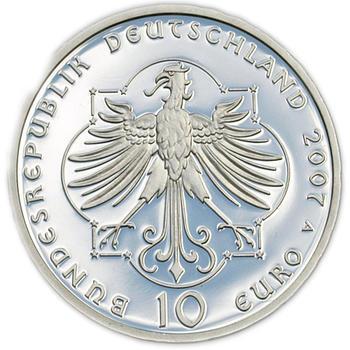 2007 Elisabeth von Thüringen Silver Proof 10 Eur - 2