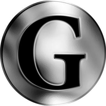 Česká jména - Gabriel - stříbrná medaile - 2