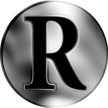 Česká jména - Richard - stříbrná medaile - 2