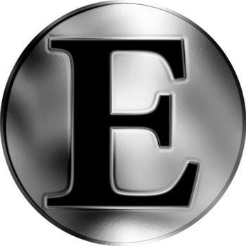 Česká jména - Emanuel - stříbrná medaile - 2