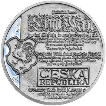 KRYŠTOF HARANT – návrhy mince 200 Kč - sada tří Ag medailí 34 mm Proof v etui - 3