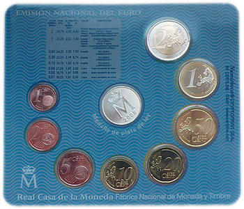 Sada mincí Španělsko 2008 Unc - Aragon - 3