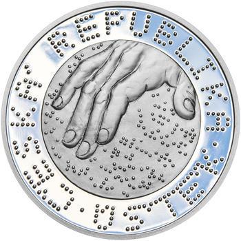 ALOYS KLAR – návrhy mince 200,-Kč - sada tří Ag medailí 34mm Proof v etui - 3