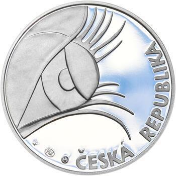 OTTO WICHTERLE – návrhy mince 200 Kč - sada tří Ag medailí 34 mm Proof v etui - 3