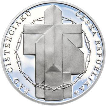 KLÁŠTER ZLATÁ KORUNA – návrhy mince 200 Kč - sada tří Ag medailí 34 mm Proof v etui - 3