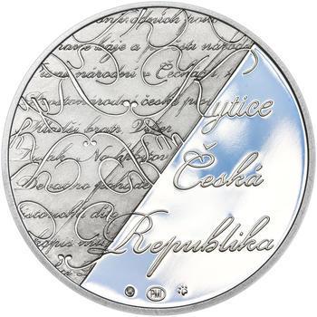 KAREL JAROMÍR ERBEN – návrhy mince 500 Kč - sada tří Ag medailí 34 mm Proof v etui - 3