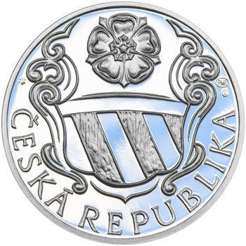PETR VOK Z ROŽMBERKA – návrhy mince 200 Kč - sada tří Ag medailí 34 mm Proof v etui - 3