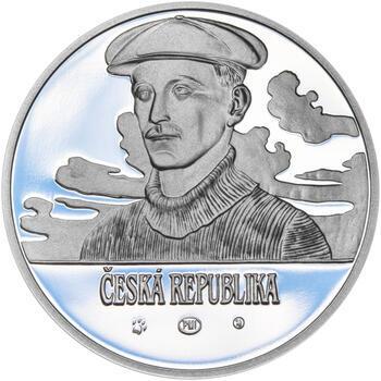 JAN KAŠPAR – návrhy mince 200 Kč - sada tří Ag medailí 34 mm Proof v etui - 3