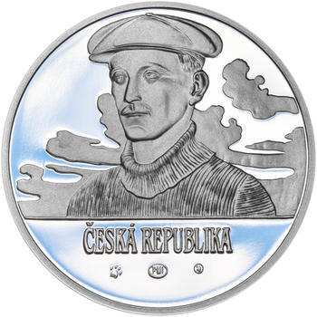 JAN KAŠPAR – návrhy mince 200,-Kč - sada tří Ag medailí 34mm Proof v etui - 3