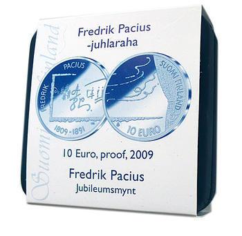2009 100th birthday Fedrik Pacius Ag Proof - 3