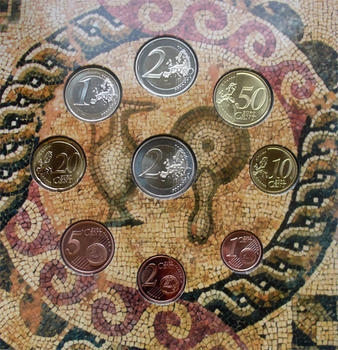 2009 Cyprus Mint Set Unc. - 3
