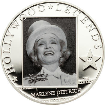 2012 Cook Island - Hollywood Legends - Marlene Dietrich, Anita Ekberg, Robert Mitchum Ag - 3
