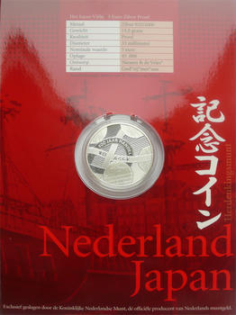 2009 400 Yrs Trade Relation Nederland Japan Ag Proof - 3