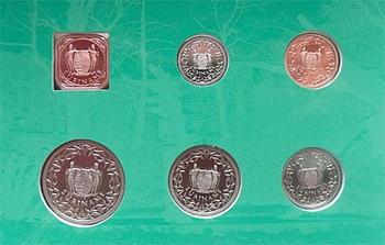 Mintset Surinam 391 Cent 2007 B.U. Cu/Ni - 3