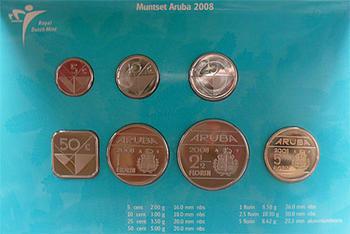 Mintset Aruba 3.95 Fl 2008 B.U. Cu/Ni - 3