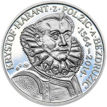 KRYŠTOF HARANT – návrhy mince 200 Kč - sada tří Ag medailí 34 mm Proof v etui - 4