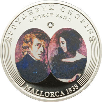 2009 - Frédéric Chopin ann. coin set Ag Proof - Andorra - 4