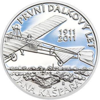JAN KAŠPAR – návrhy mince 200 Kč - sada tří Ag medailí 34 mm Proof v etui - 4
