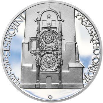 STAROMĚSTSKÝ ORLOJ – návrhy mince 200 Kč - sada tří Ag medailí 34 mm Proof v etui - 4
