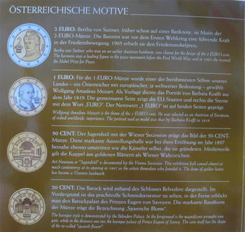 Oběhové mince 2006 Unc. Rakousko - 4