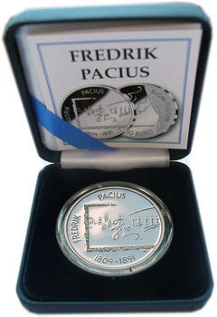 2009 100th birthday Fedrik Pacius Ag Proof - 4