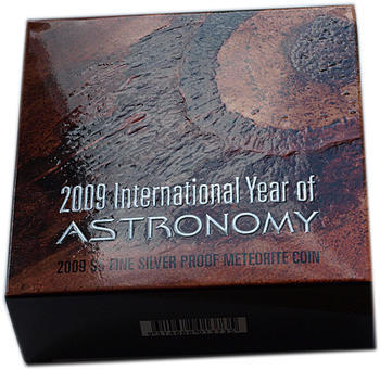 2009 Int.Year of Astronomy - Meteorite Ag Proof - 4