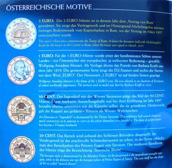 Oběhové mince 2007 Unc. Rakousko - 4