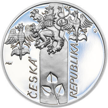 17. LISTOPAD 1989 – návrhy mince 200 Kč - sada tří Ag medailí 34 mm Proof v etui - 5