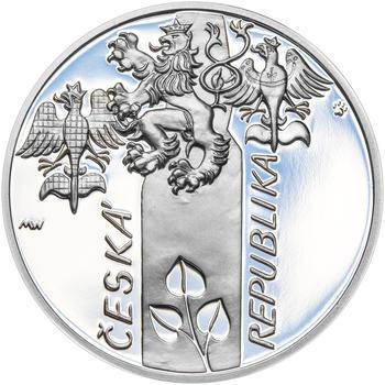 17. LISTOPAD 1989 – návrhy mince 200,-Kč - sada tří Ag medailí 34mm Proof v etui - 5