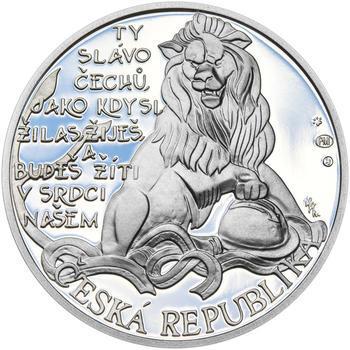 ZAL. ČESKOSLOVENSKÝCH LEGIÍ – návrhy mince 200 Kč - sada tří Ag medailí 34 mm Proof v etui - 5