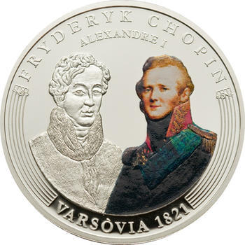 2009 - Frédéric Chopin ann. coin set Ag Proof - Andorra - 5